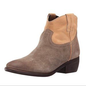 Steve Madden Midnite Ankle Leather Boots 7.5
